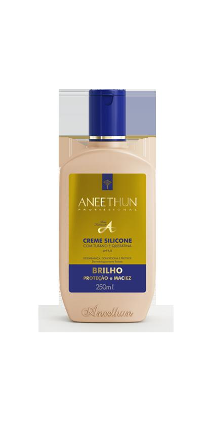 Creme Silicone com tutano e queratina Aneethun Linha A 250 ml