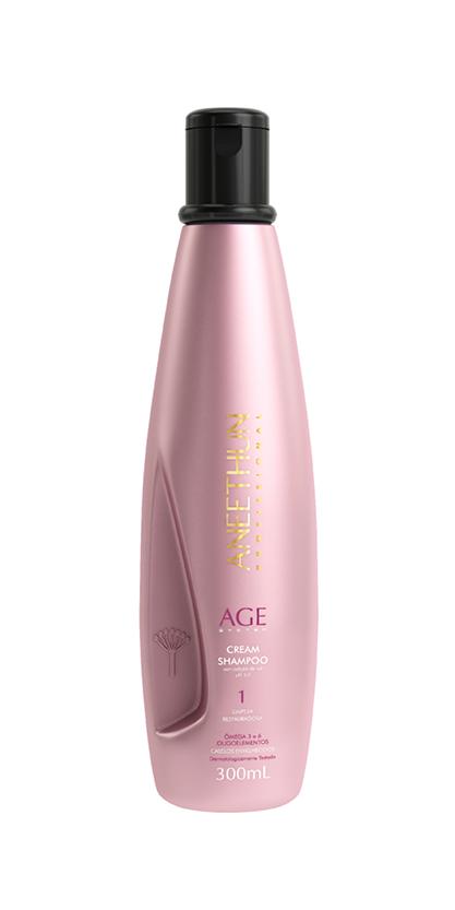 Cream Shampoo Age System